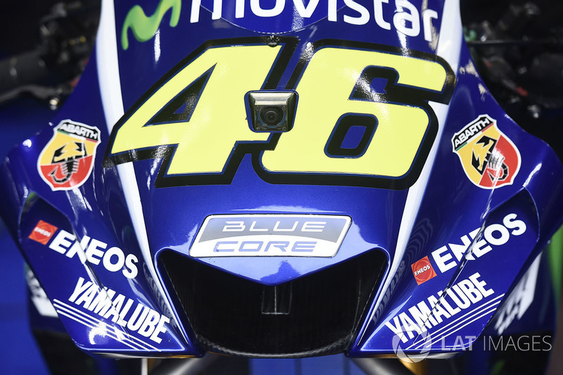 Rossi's bike, new fairing