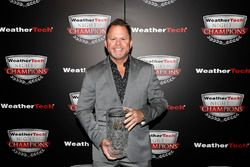 Michael Shank with VP Racing Fuels Front Runner award