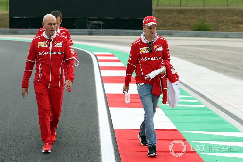 Себастьян Феттель, Ferrari, головний інженер Ferrari Джок Кліа
