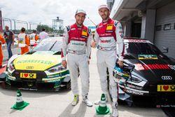 Mike Rockenfeller, Audi Sport Team Phoenix, Audi RS 5 DTM and René Rast, Audi Sport Team Rosberg, Au