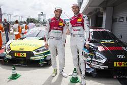 Mike Rockenfeller, Audi Sport Team Phoenix, Audi RS 5 DTM and René Rast, Audi Sport Team Rosberg, Audi RS 5 DTM