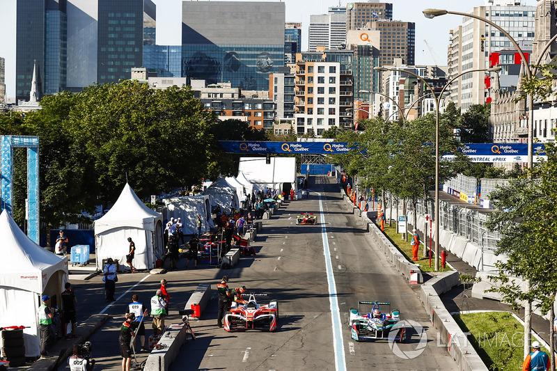 Robin Frijns, Amlin Andretti Formula E Team, Nick Heidfeld, Mahindra Racing, Daniel Abt, ABT Schaeffler Audi Sport