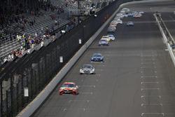 Kyle Busch, Joe Gibbs Racing Toyota leads