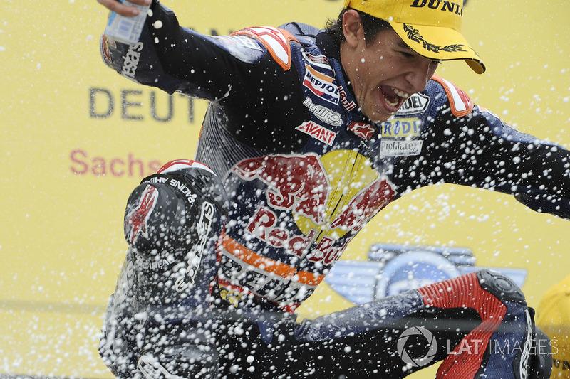 Ganador de la carrera Marc Márquez