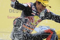 Race winner Marc Marquez