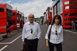Zoran Stefanovic, CEO dello StefanF1 Team nel paddock del GP d'Austria