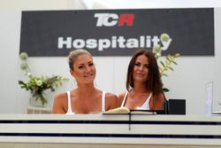 Girls at the TCR Hospitality