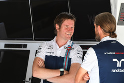 Rob Smedley, Responsabile delle Performance del Veicolo Williams e Carl Gaden, Williams