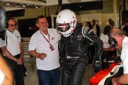 Paul Stoddart, F1 Experiences 2-Seater passagier Simon Lazenby, Sky TV