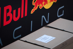 Red Bull Racing freight heading to Melbourne