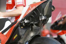 Detail of the Ducati, Ducati Team