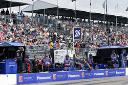 Takuma Sato, Andretti Autosport Honda pit