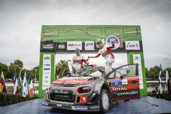 Winners Kris Meeke, Paul Nagle, Citroën World Rally Team