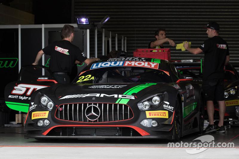 18. #22 STM / HTP Motorsport, Mercedes AMG GT3