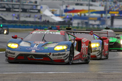 #68 Ford Performance Chip Ganassi Racing, Ford GT: Billy Johnson, Stefan Mücke, Olivier Pla; #67 For