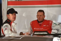 #5 GT Motorsport Audi R8 LMS: Greg Taylor, #74 Jamec Pem Racing Audi R8 LMS: Geoff Emery