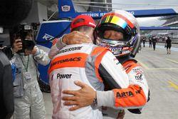 GT300 polesitters #55 Autobacs Racing Team Aguri BMW M6 GT3: Shinichi Takagi, Sean Walkinshaw