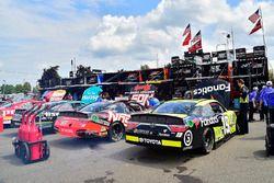 Matt Tifft, Joe Gibbs Racing Toyota, Kyle Busch, Joe Gibbs Racing Toyota