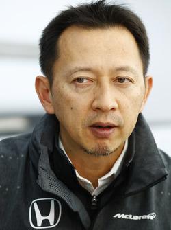 Yusuke Hasegawa, director de Honda F1