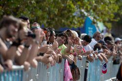 De fans genieten