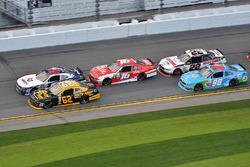 William Byron, Hendrick Motorsports Chevrolet, Brendan Gaughan, Richard Childress Racing Chevrolet,