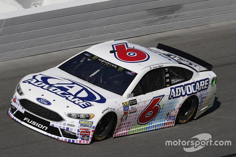 10. Trevor Bayne, Roush Fenway Racing, Ford