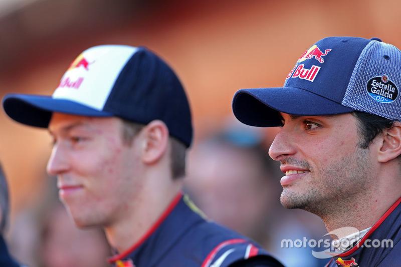 Carlos Sainz Jr., Daniil Kvyat, Scuderia Toro Rosso