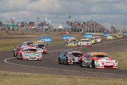 Sergio Alaux, Donto Racing Chevrolet, Christian Ledesma, Las Toscas Racing Chevrolet, Juan Pablo Gia