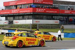 Luke Davenport, Motorbase Performance Ford Focus, Martin Depper, Motorbase Performance Ford Focus