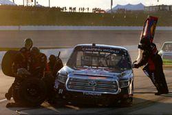 Harrison Burton, Kyle Busch Motorsports Toyota pit stop