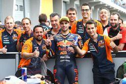 Il secondo classificato Miguel Oliveira, Red Bull KTM Ajo