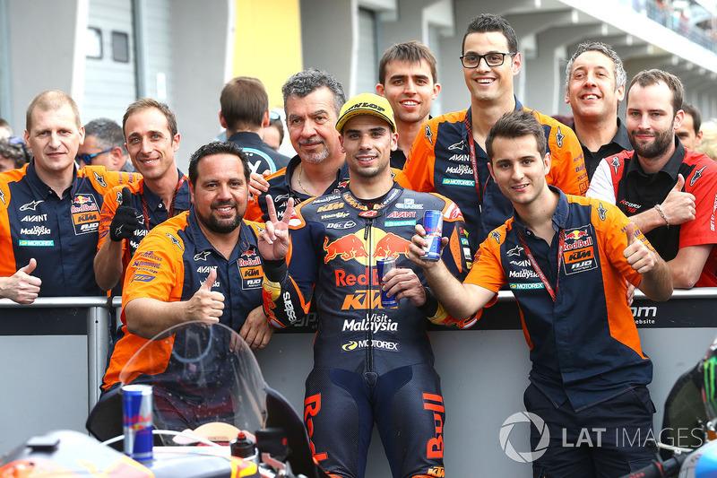 Segundo, Miguel Oliveira, Red Bull KTM Ajo