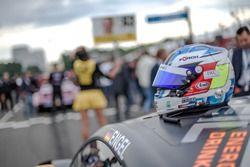 Helmet of Maro Engel, Mercedes-AMG Team HWA, Mercedes-AMG C63 DTM