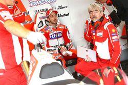 Andrea Dovizioso, Ducati Team, Gigi Dall'Igna, Ducati Team algemeen manager