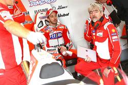 Andrea Dovizioso, Ducati Team, Gigi Dall'Igna, Ducati Team Gerente General