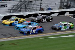 Matt Tifft, Joe Gibbs Racing Toyota, Brandon Jones, Richard Childress Racing Chevrolet, Erik Jones,