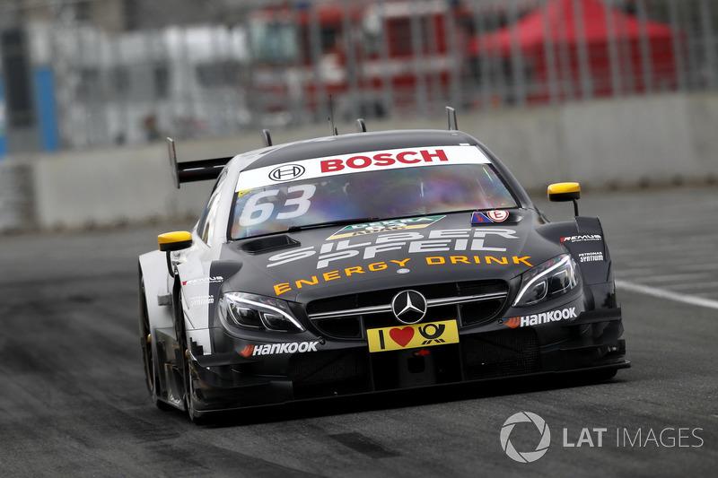 14. Maro Engel, Mercedes-AMG Team HWA, Mercedes-AMG C63 DTM