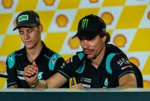 Post-Qualifying Press Conference: Fabio Quartararo, Petronas Yamaha SRT, Franco Morbidelli, Petronas Yamaha SRT