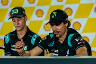 Post-Qualifying Press Conference: Fabio Quartararo, Petronas Yamaha SRT, Franco Morbidelli, Petronas Yamaha SRT