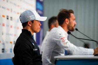 Nyck De Vries, Mercedes Benz EQ in the press conference