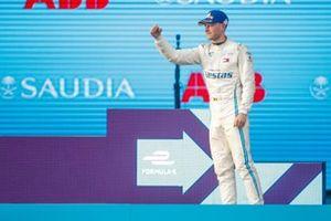 Podio: tercer lugar Stoffel Vandoorne, Mercedes Benz EQ