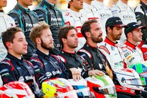 Antonio Felix da Costa, DS Techeetah, Jean-Eric Vergne, DS Techeetah at the drivers' photo