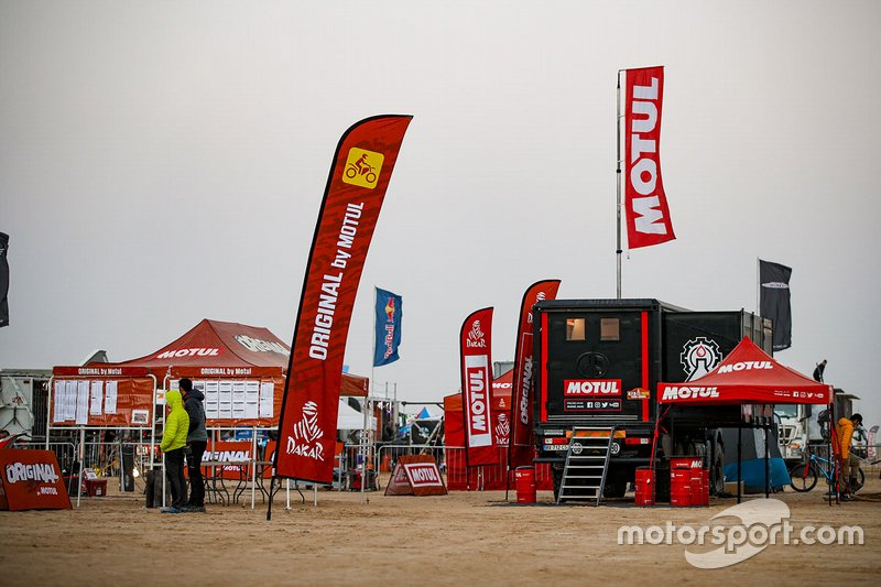 Motul Racing Lab area