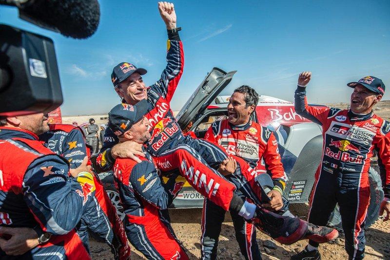 Le vainqueur #305 JCW X-Raid Team: Carlos Sainz