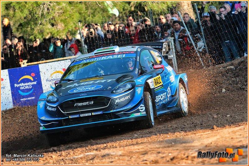 Elfyn Evans, Scott Martin, Ford Fiesta WRC