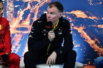 Alan Permane, Sporting Director, Renault Sport F1 Team in conferenza stampa