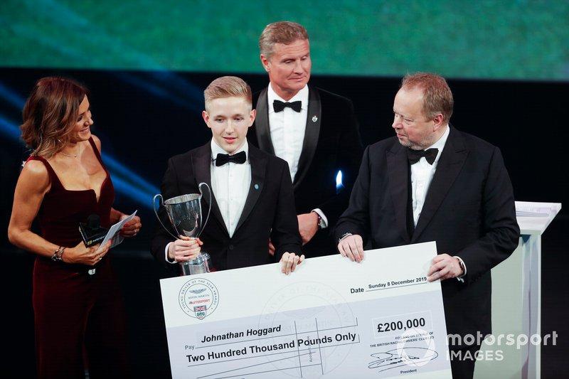 Johnathan Hoggard vince l'Aston Martin Autosport BRDC Young Driver Of The Year Award