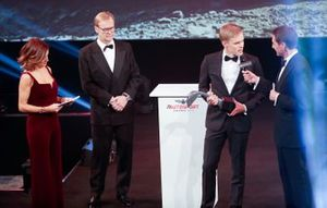 Ott Tanak wins the Rally Driver of the Year Award