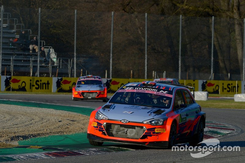Andreas Mikkelsen, Jaeger Anders, Hyundai i20, Monza Rally Show