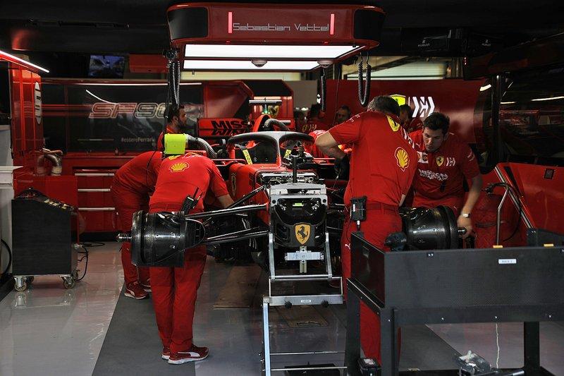 Ferrari SF90, front detail